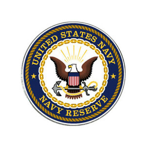 US Navy Reserve Logo Golf Ball Marker