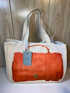 NWT THURSDAY FRIDAY ORANGE PROENZE SCHOULER TOTE HANDBAG *RARE*
