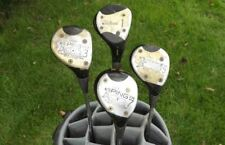 Vintage lot of Prosimmon Golf Clubs Titleist Driver Ping 3 5 7 Woods
