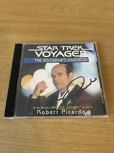 Robert Picardo SIGNED Star Trek Voyager The Hologram's Handbook CD