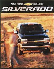 2002 Chevrolet Silverado 1500 2500 3500 Base LS LT Dealer Sales Brochure