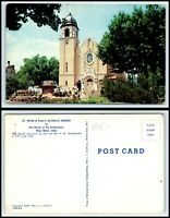IOWA Postcard - West Bend, St. Peter & Paul's Catholic Church M32