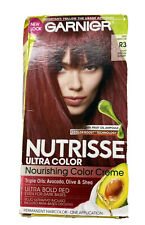 Garnier Nutrisse Ultra Color Nourishing Hair Color Creme R3 Red Hibiscus New