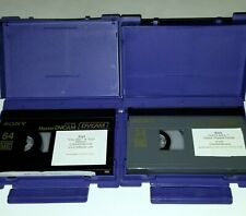 NAS COLUMBIA SONY RECORDS ONE MIC MUSIC VIDEO DVCAM TAPE RAP HIPHOP COLUMBIA REC