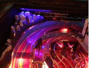 Bram Stoker DRACULA Pinball Lightening Effect Cemetery Light Mod