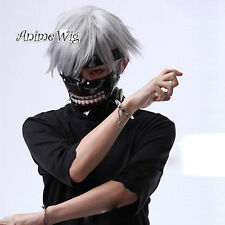 For Tokyo Ghoul Kaneki Ken Gray 30CM Short Hair Daily Anime Party Cosplay Wig