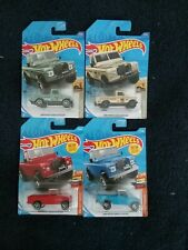 HW Set of 4 LAND ROVER SERIES III PICKUP Red, Blue, Army Green & Pale Yellow