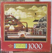 FAIRHAVEN IN THE FALL BY CHARLES WYSOCKI (Complete) 1999 PUZZLE