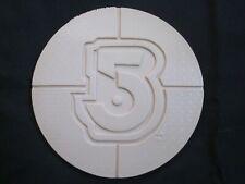 Babylon 5 Resin Emblem Logo Disk - B5 Fan Club