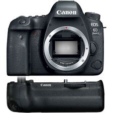 Canon EOS 6D Mark II DSLR Camera Body with BG-E21 Battery Grip