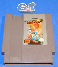 THE GOONIES II Nintendo NES Game Cartridge: Cleaned/ Tested