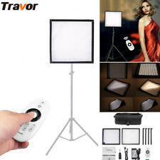 Flexible FL-3030A Bi-Color LED Video Light Roll-up Panel Studio Camera Lighting~