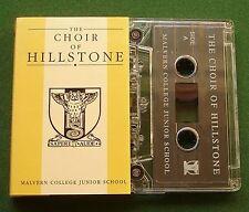 The Choir Of Hillstone Malvern College Junior School Cassette Tape - TESTED