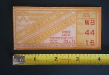 1935 NOV. 28 CORNELL VS PENNSYLVANIA FRANKLIN FIELD NCCA FOOTBALL TICKET $1.71