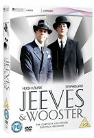 JEEVES AND WOOSTER COMPLETE SERIES COLLECTION DVD Stephen Fry Hugh Laurie New UK