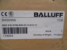 BALLUFF INDUCTIVE MULTIPLE LIMIT SWITCH BNS 816-X786-B06-00-12-610-11 SEALED