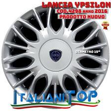 """Lancia Y Oro Copricerchio singolo coppa ruota 15/"""" nuovo logo cod 4287LC"""