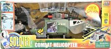 Soldier Force Deluxe Combat Helicopter & Soldier Action Figures Play Set #300117