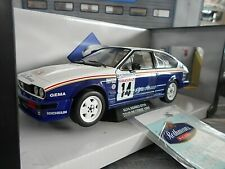 ALFA ROMEO Alfetta GTV 6 Gr.A Rallye T Corse 1986 #14 Loubet Rothman Solido 1:18