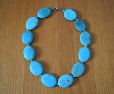 Necklace - Turquoise coloured stones