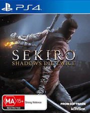 Sekiro Shadows Die Twice PS4 Game NEW