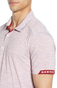 Oakley Hydrolix - GRAVITY Polo - Golf Shirt -  Mens - Iron Red - L Large - BNWT