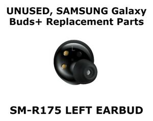 Samsung Galaxy Buds+ PLUS Wireless Earbuds LEFT SIDE ONLY SM-R175 - Black