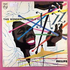 Ce monde merveilleux de Jazz-Divers-RARE Philips BBL-7356 vg + condition LP