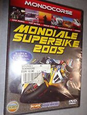 DVD MONDIALE SUPERBIKE 2005 MONDOCORSE 105 MINUTI