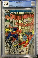 SPIDER-WOMAN 20 (79) CGC 9.4 WP 1st MEETING SPIDER-WOMAN & SPIDER-MAN Key Comic