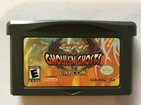 Super Ghosts 'N Goblins (Nintendo Game Boy Advance, 2002) GBA Used