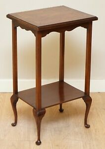 LOVELY ORIGINAL INLAID VICTORIAN RECTANGLE OCCASIONAL SIDE PLANT/WINE END TABLE