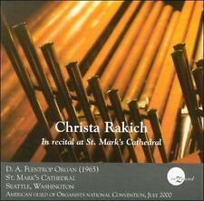 Christa Rakich in Recital at St. Mark's Cathedral, New Music