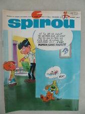 Journal SPIROU n° 1588 (52  pages) du 19 septembre 1968 - COMPLET +  Doc SPIROU