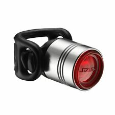 Lezyne Femto Drive Rear LED Cycle Light - Silver