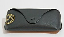 Ray Ban Eye Glasses/Sunglasses Black Cover /CASE /Pouch & Cleaning Cloth