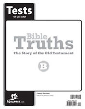 Bible Truths B - The Story of the Old Testament 4th Ed Student Tests BJU #281774