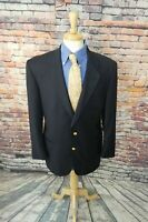Brooks Brothers Country Club LORO PIANA 44R Navy Super 120s Blazer Sport Coat