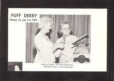POSTCARD:  AWTAR OFFICERS - POWDER PUFF DERBY WOMEN'S AIR RACE - TAMPA, FLORIDA