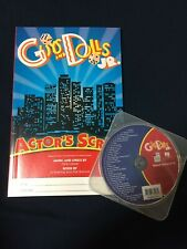 NEW GUYS AND DOLLS Jr. Script, vocal rehearsal CD music libretto Broadway Junior