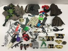 Lot of Vintage 1990s Toy Weapons, Accessories & Parts Marvel X-Men Power Rangers