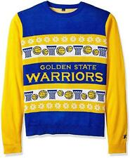 Cool! Ugly Christmas Golden State Warriors Holiday Sweater Holiday Size XL __S29