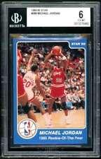 Michael Jordan Rookie Card 1984-85 Star #288 BGS 6