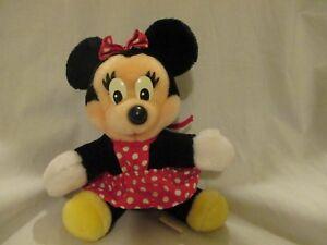 Disneyland Walt Disney World Minnie Mouse Vintage Plush Stuffed Animal Mickey