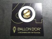FRANCE, 2019, timbre BALLON D OR neuf** AUTOADHESIF FEUILLET COLLECTOR FOOTBALL