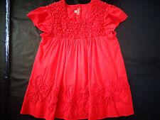 haut / blouse rouge 10 ans MARESE - comme NEUVE jamais portée, juste lavée