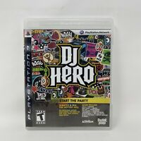 DJ Hero (Sony PlayStation 3, 2009) PS3 Game Only Complete Tested Working
