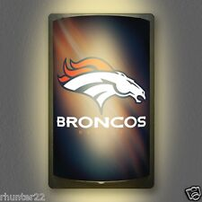 Denver Broncos NFL Licensed MotiGlow™ Light Up Sign - Free USA shipping!