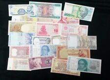 World Banknotes - Bulk Lot of 20 World Banknote Assortment of Notes  Set # 21