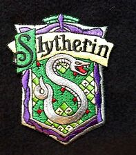 Slytherin Iron On Embroidered Patch Harry Potter 3 Gryffindor Hogwarts Magic